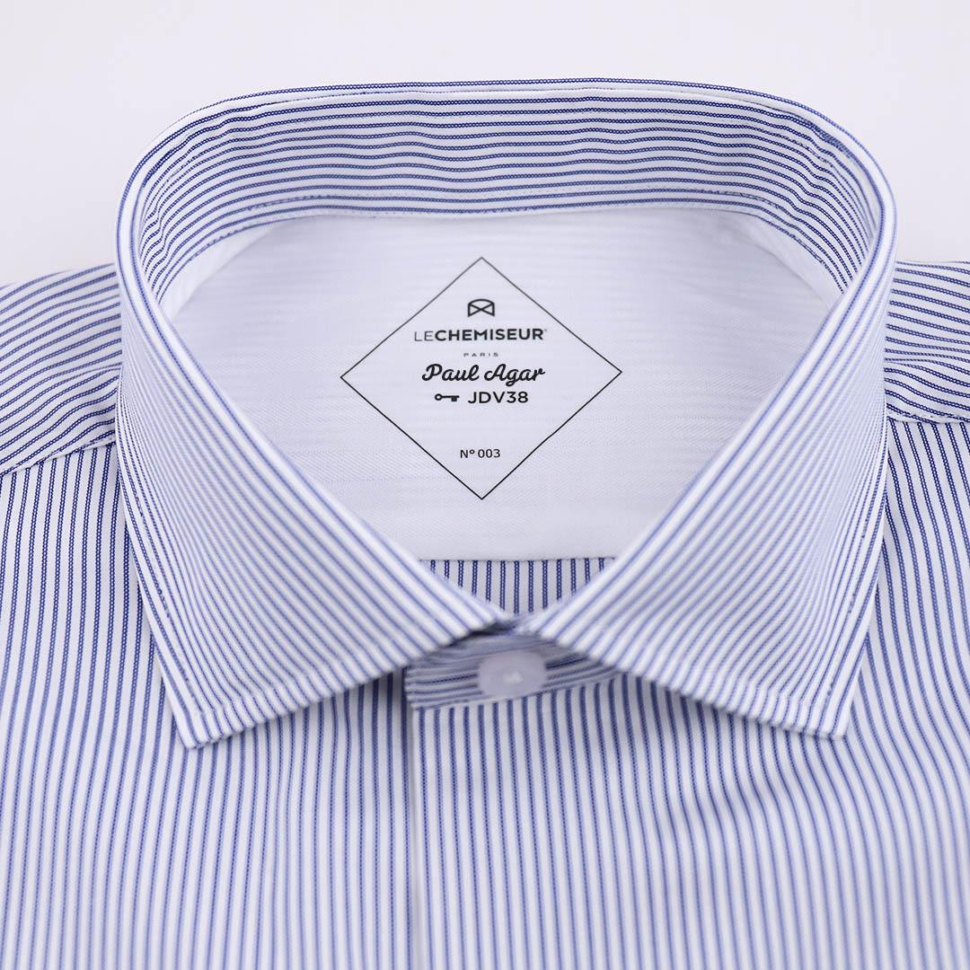 chemise homme clé de coupe