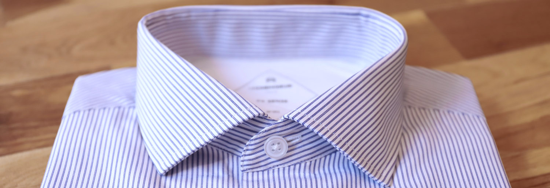 chemise homme détails entoilage