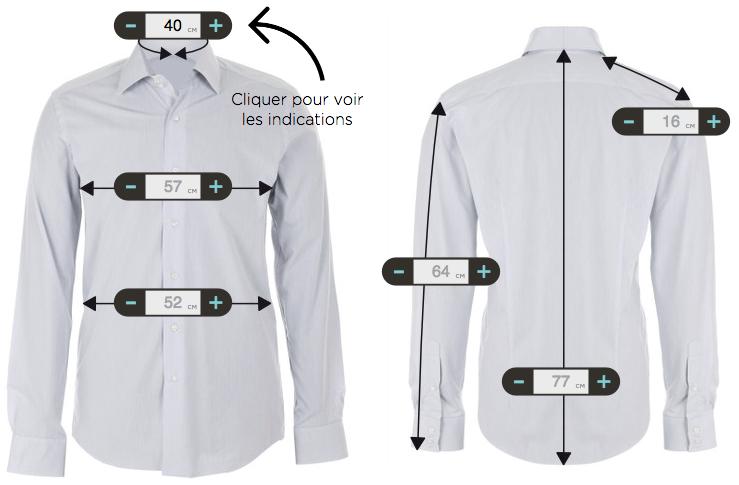 chemises sur mesure le chemiseur chemises en ligne hommes sur mesure. Black Bedroom Furniture Sets. Home Design Ideas