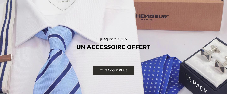 chemise et accessoires bretelles pochette cravate boutons de manchette