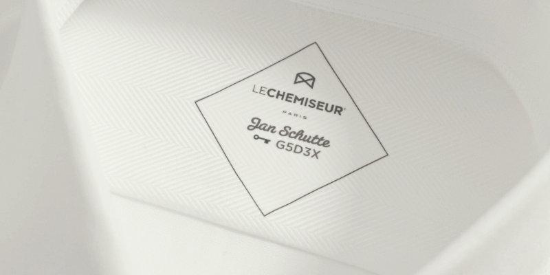chemise sur mesure personnalisée