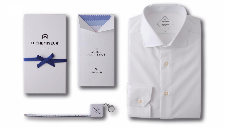 Coffret cadeau pour une chemise sur mesure homme