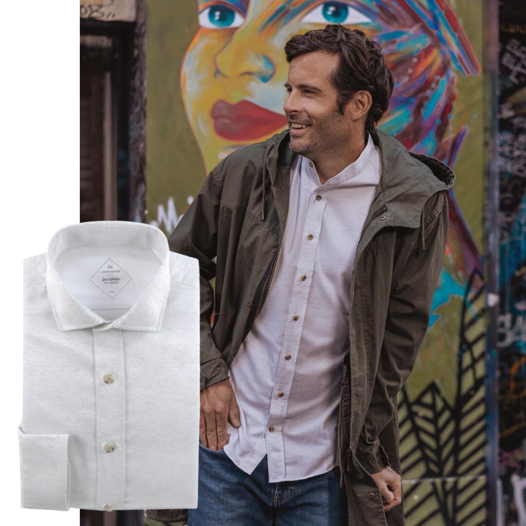 sur mesure chemise recyclée