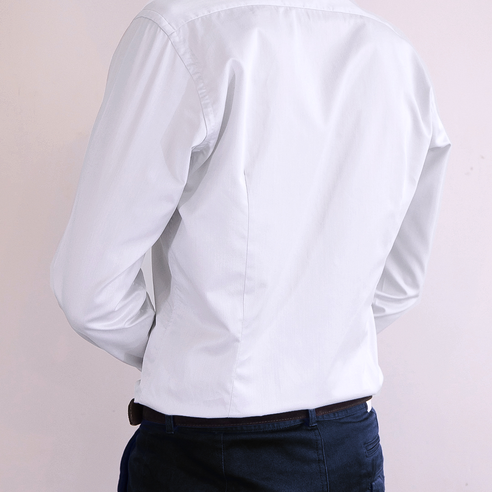 chemise homme sur mesure pinces