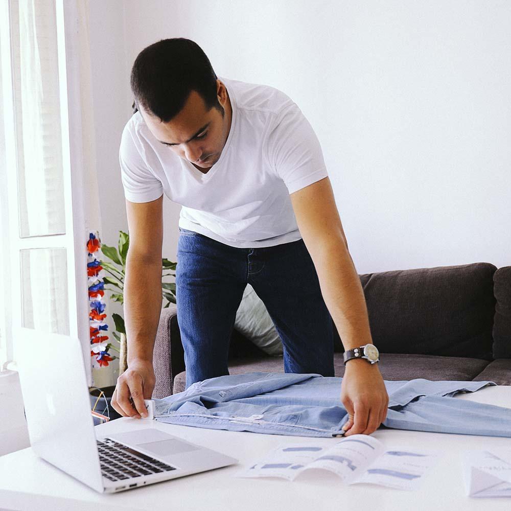 chemise homme création sur mesure