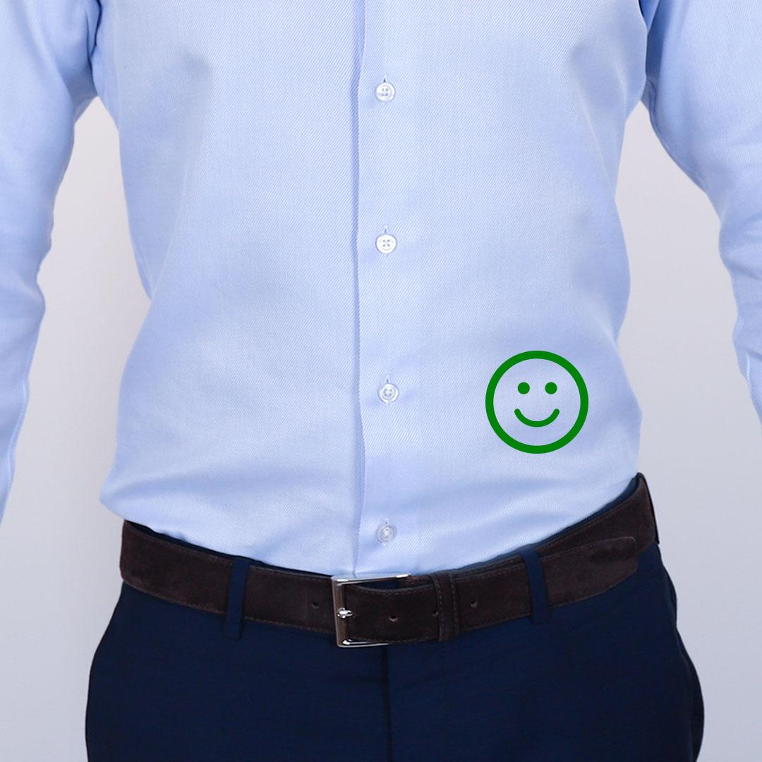 chemise homme bien faire le cintrage