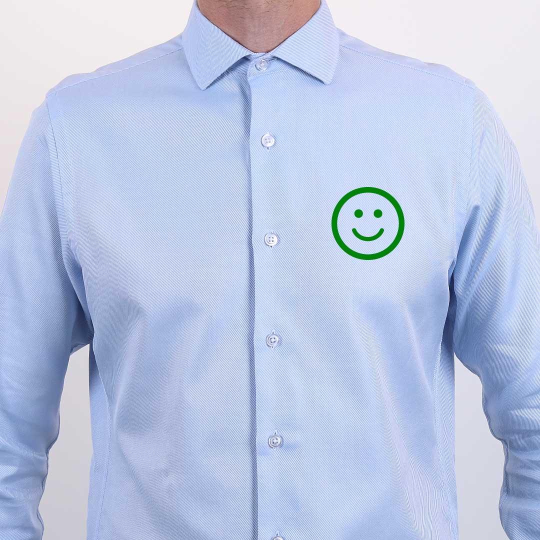 chemise sur mesure ajuster le torse