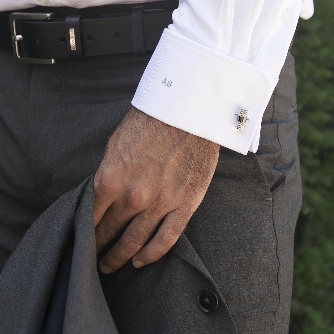 chemise homme twill blanc