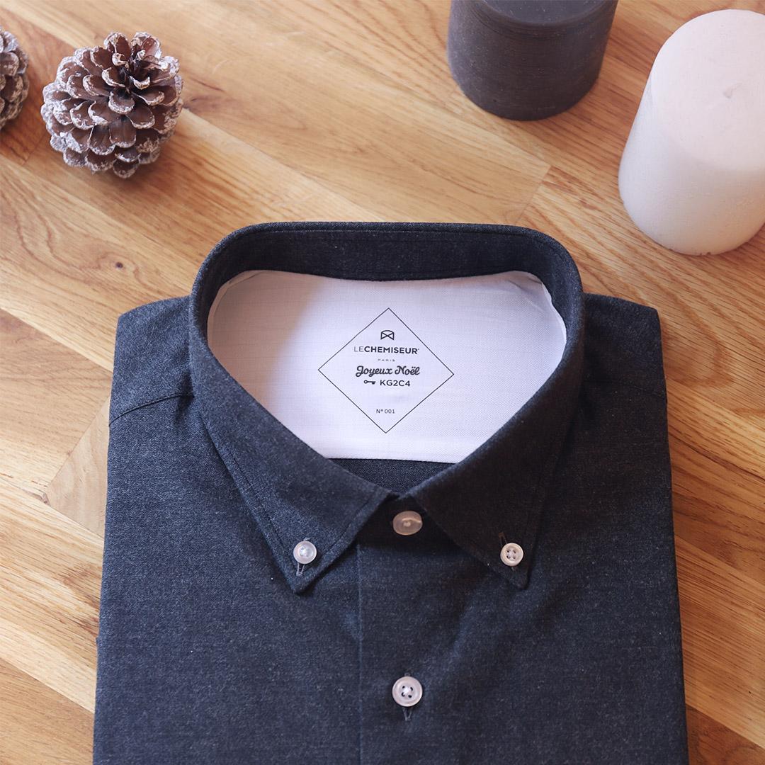 chemise homme personnalisation