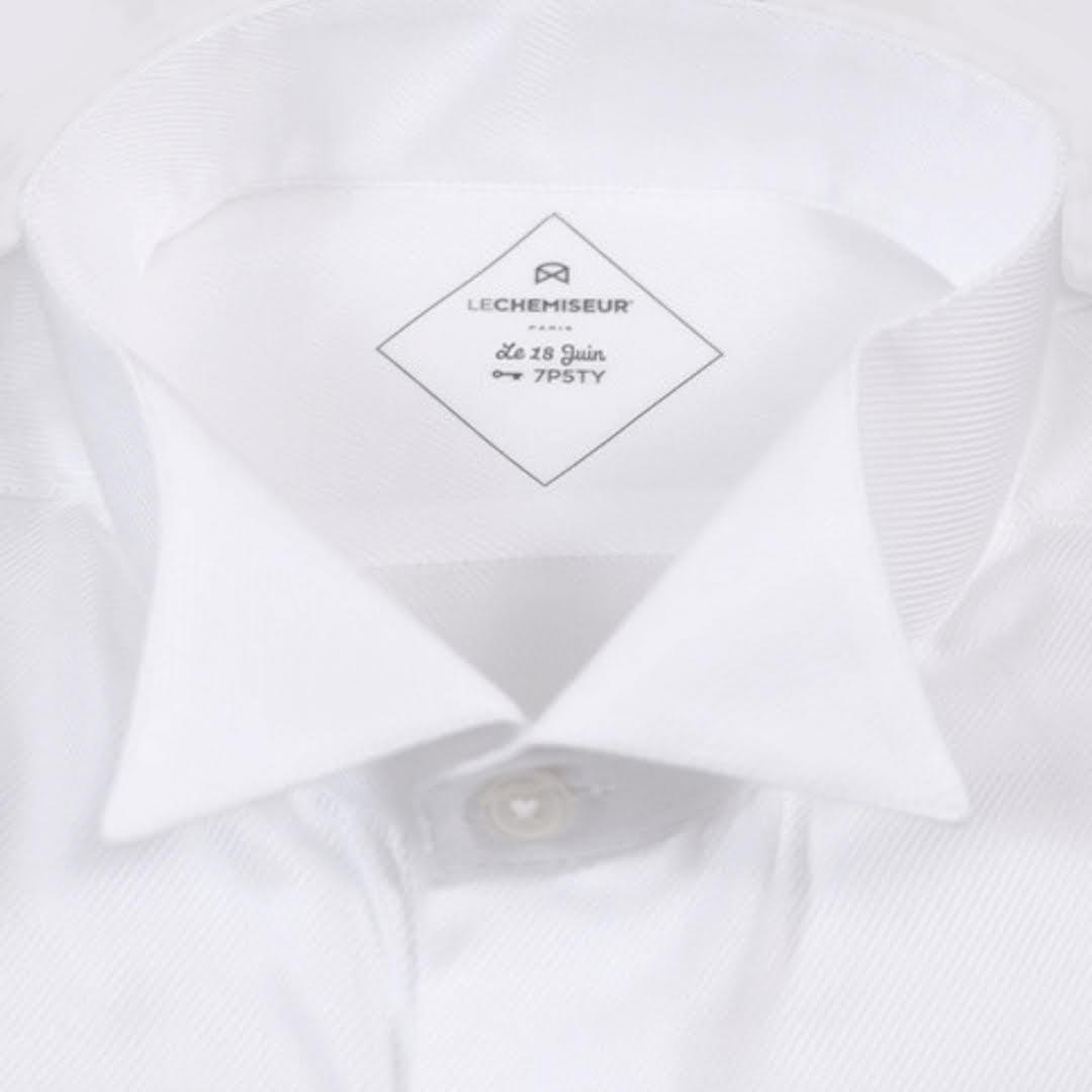 chemise blanche homme classique popeline chic. Black Bedroom Furniture Sets. Home Design Ideas