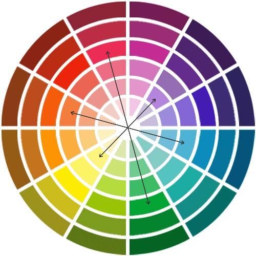 la différence entre couleur primaire et couleur secondaire pour bien assortir la couleur de la chemise à celle du costume