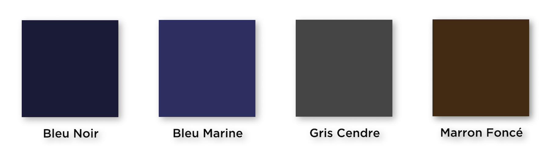 couleurs chemises