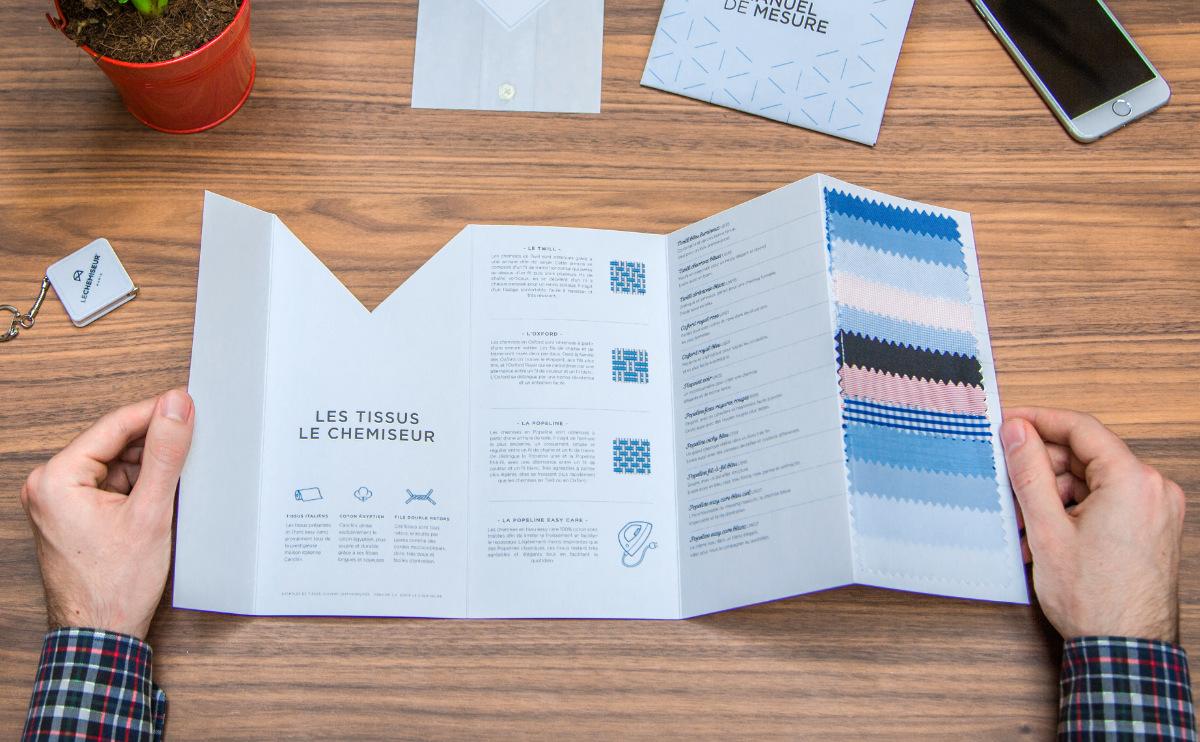 manuel des tissus pour choisir une chemise homme