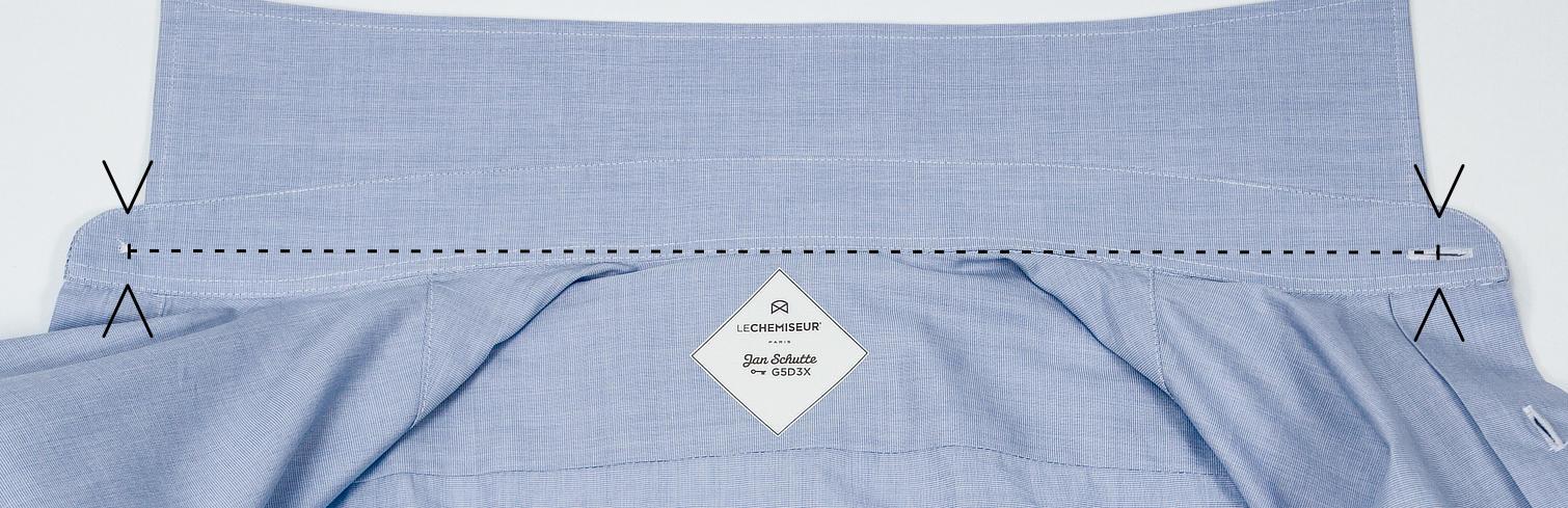 grande vente 1e49d 5d8c8 Col chemise trop serré ? Mesurer et ajuster l'encolure