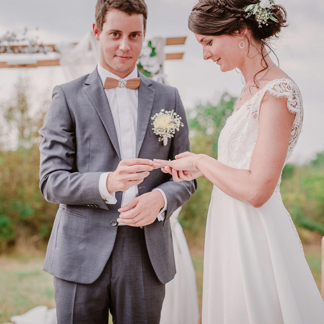 chemise homme mariage blanc champêtre