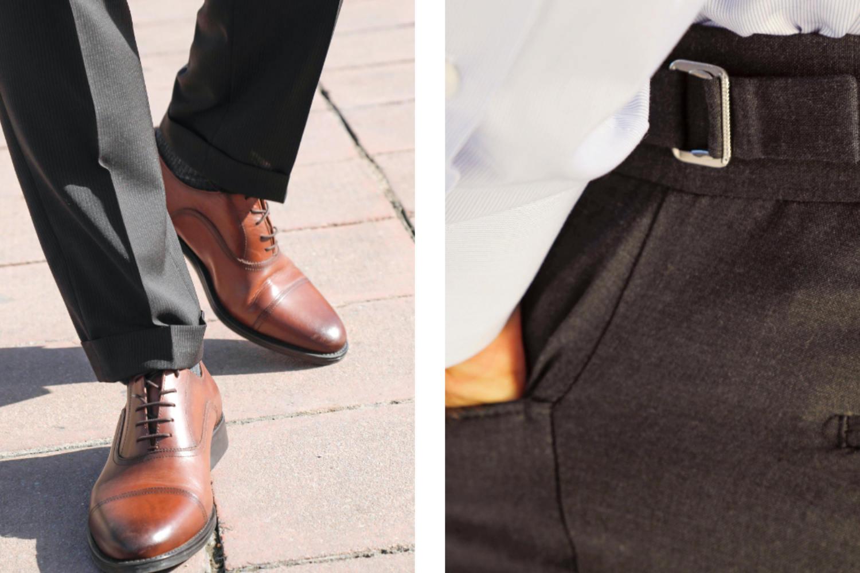 pantalon homme tendance sur mesure