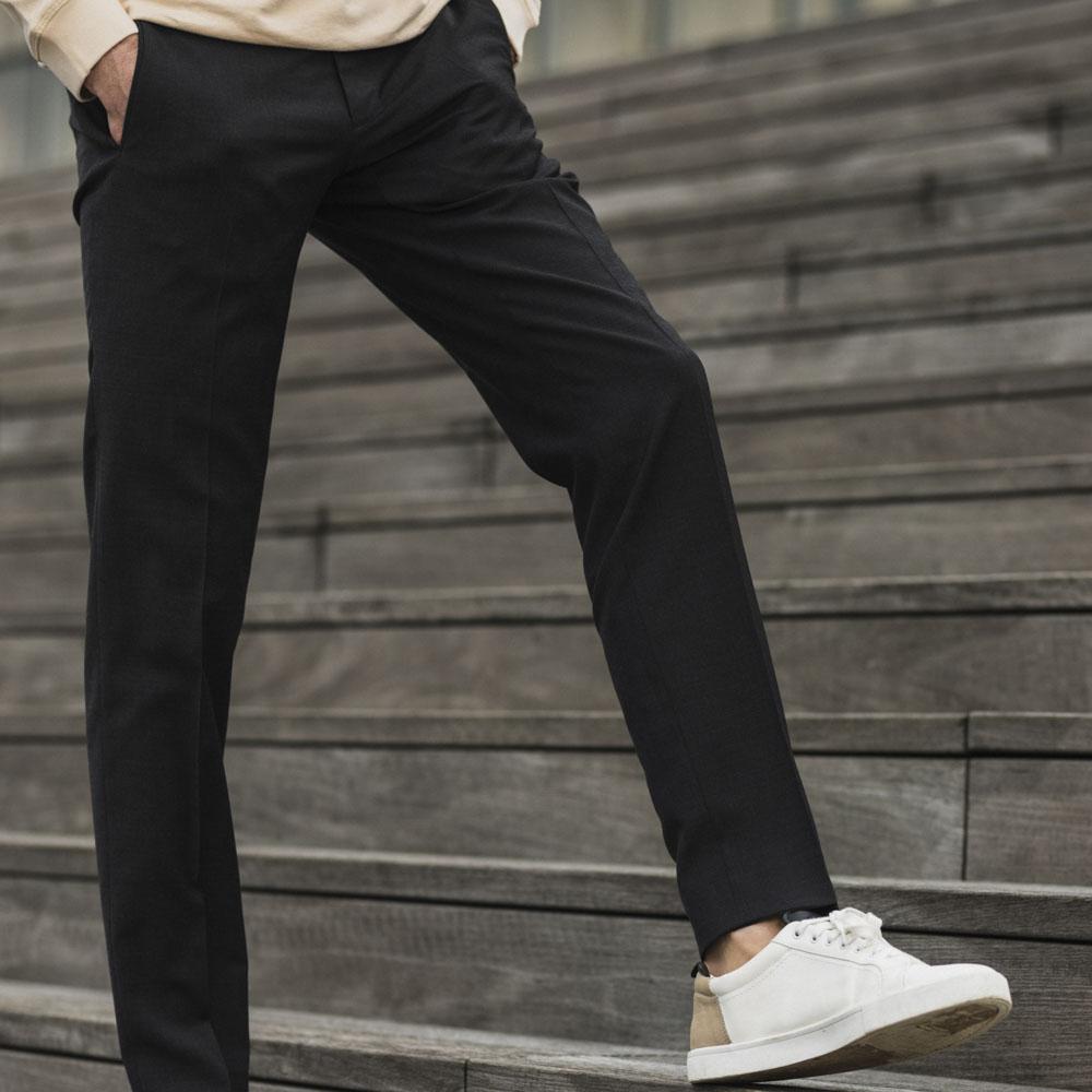 pantalon homme anthracite habillé