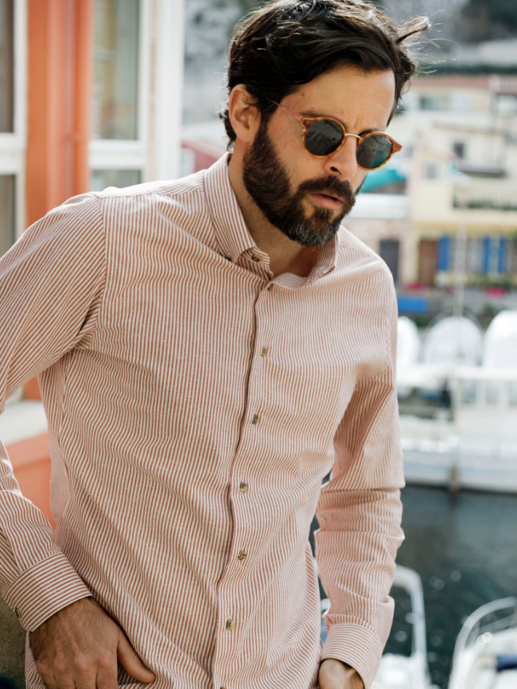 chemise homme été