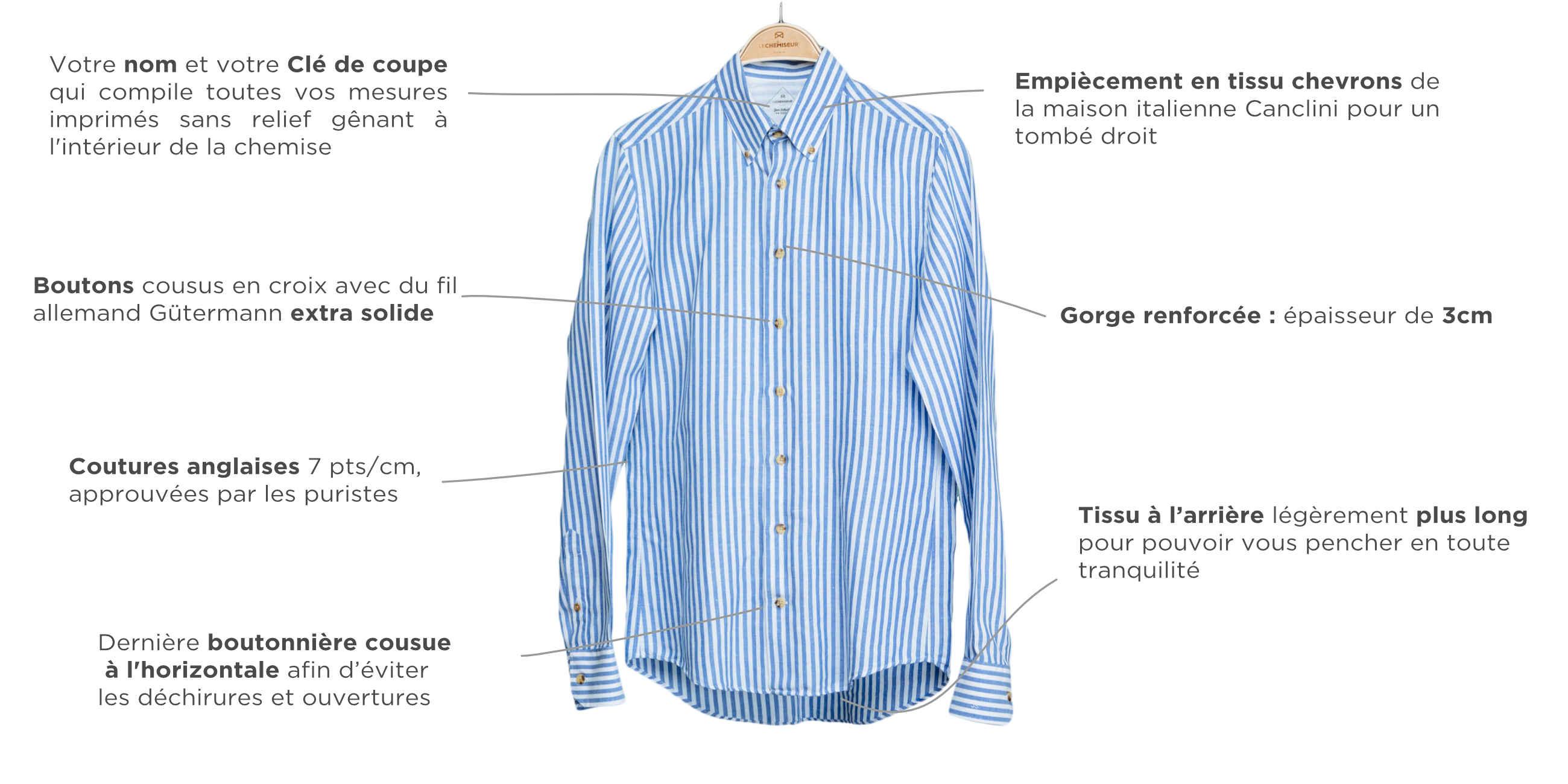 chemise homme qualité