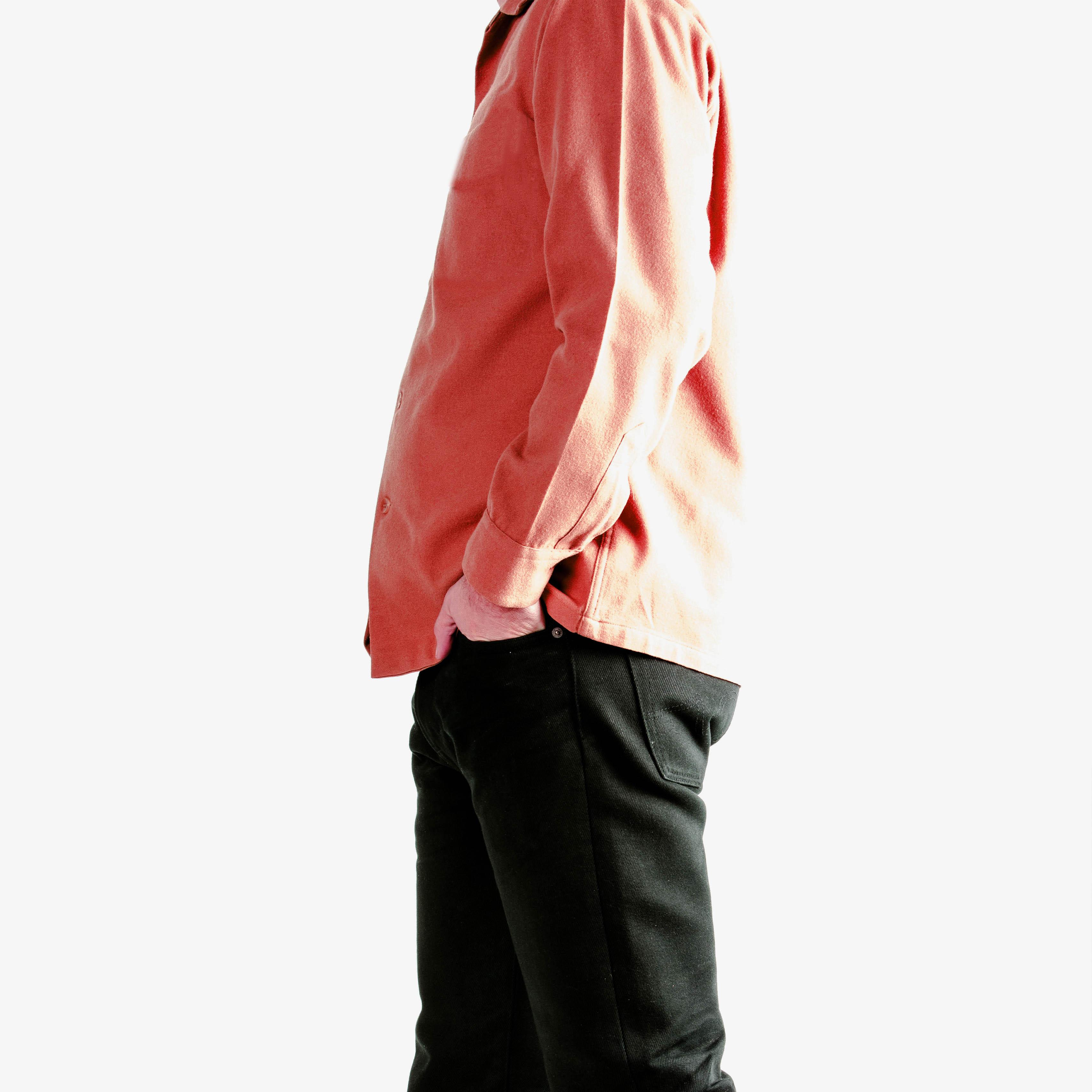 chemise homme sur mesure bas droit