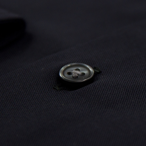boutons chemise homme noire