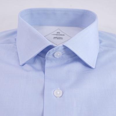 tissu fil-à-fil bleu