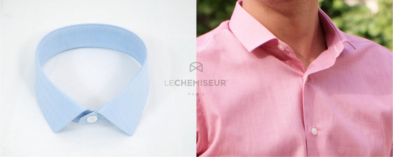chemise oxford royal petit col