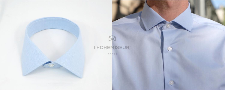 Choisir le col de sa chemise sur mesure