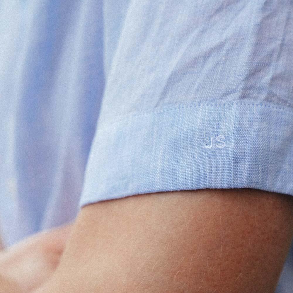 Chemise-homme-manches-courtes