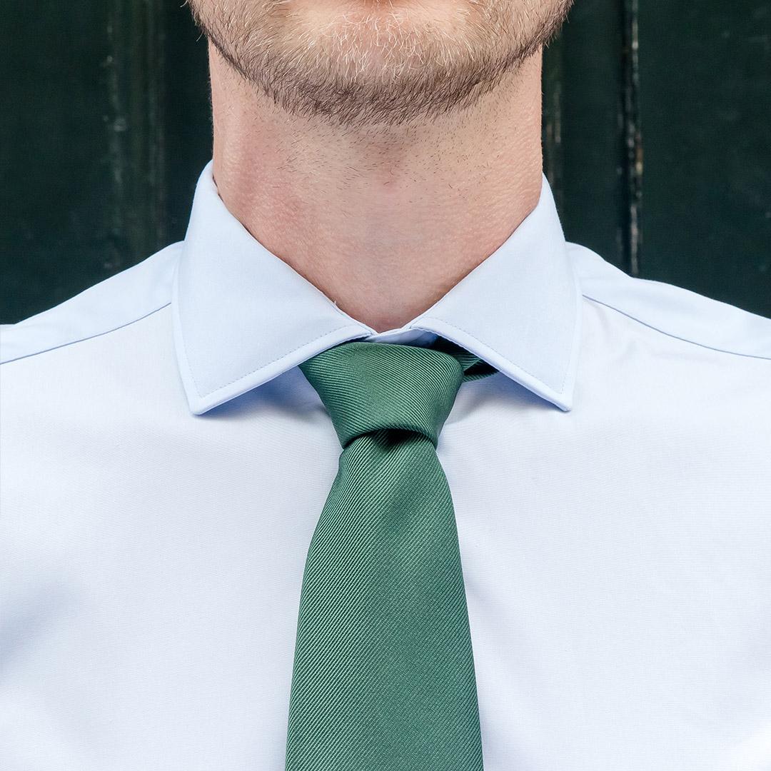 chemise homme sur mesure col italien