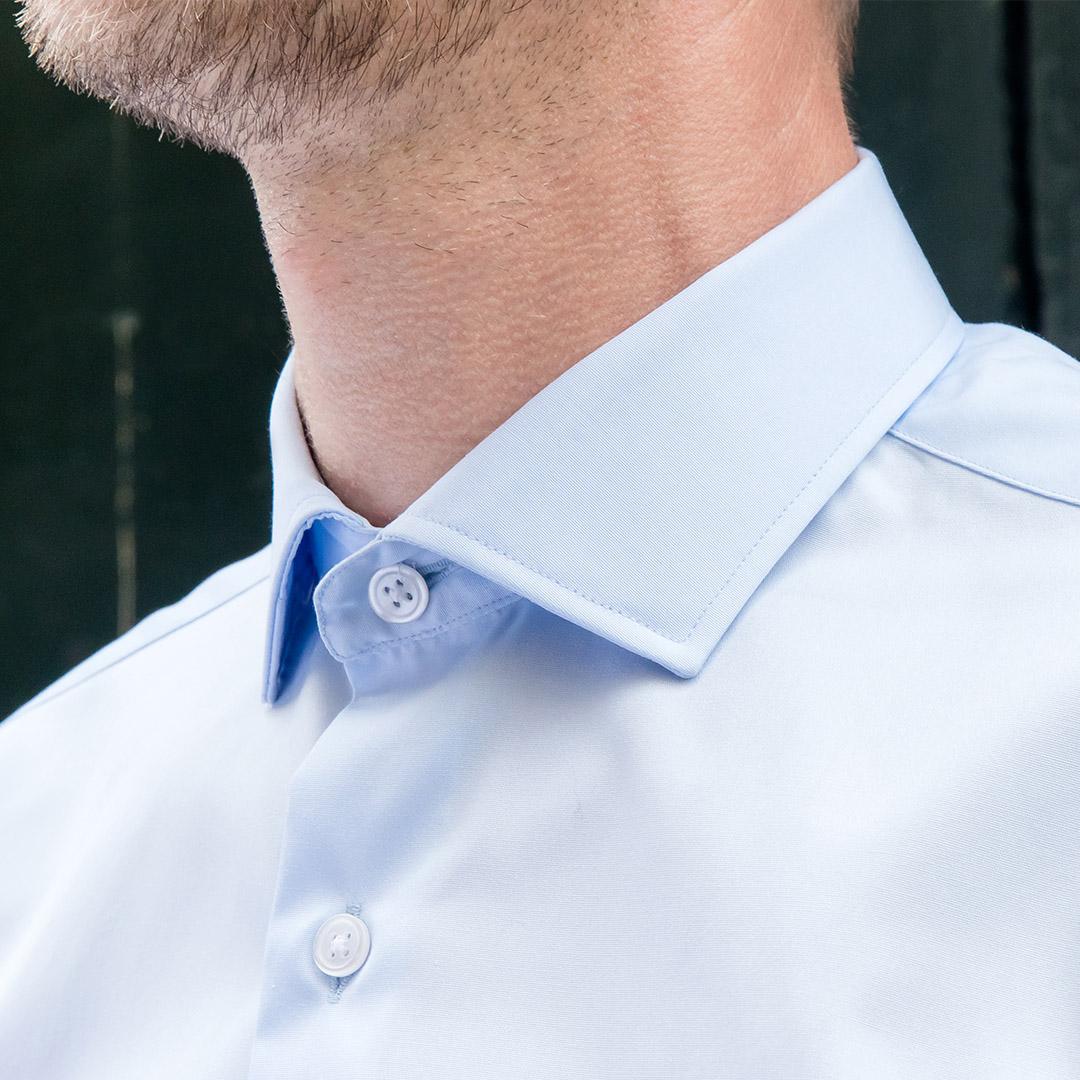 chemise homme col italien