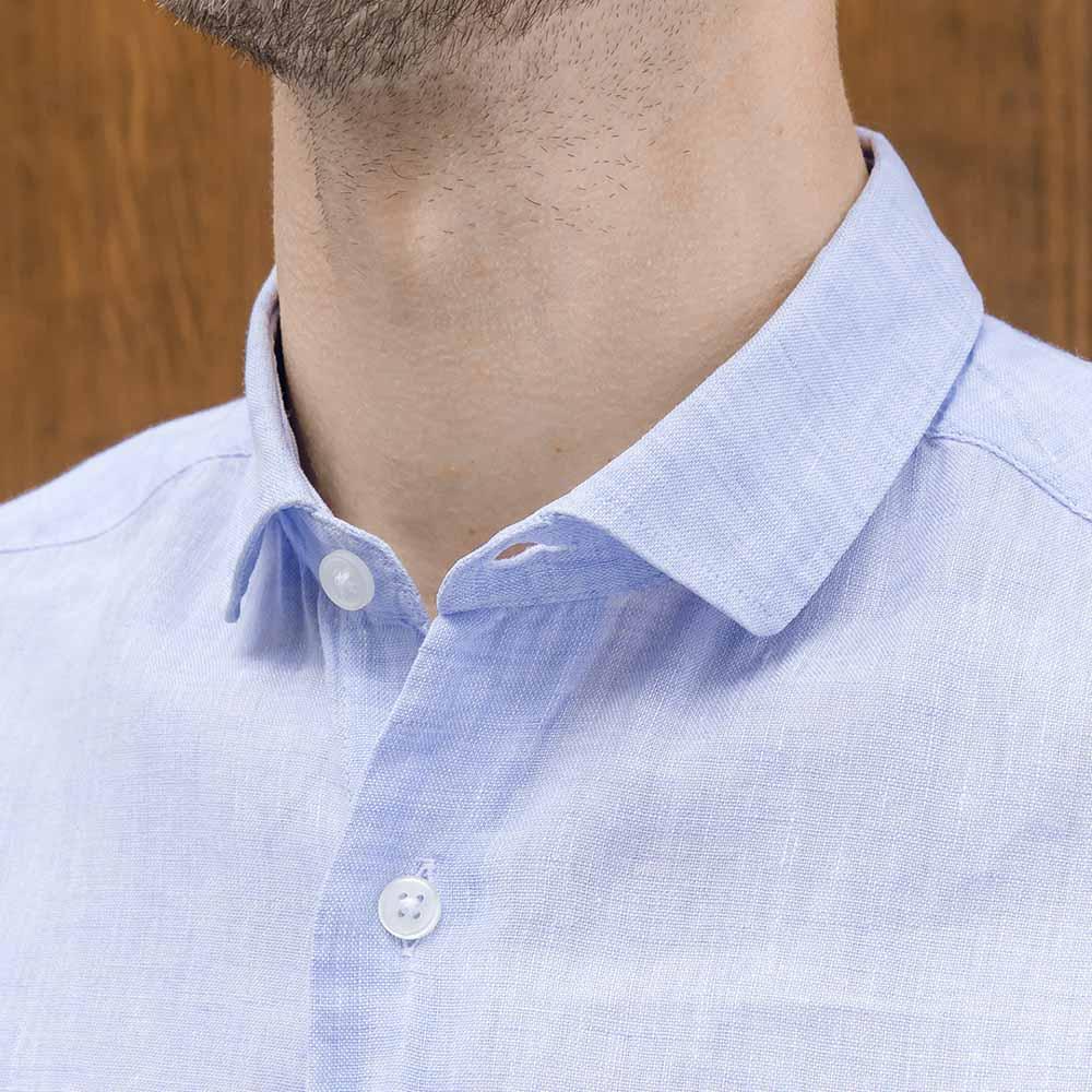 chemise homme sur mesure petit col