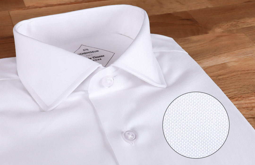 Chemise-Popeline-Blanche-Homme-Qualite