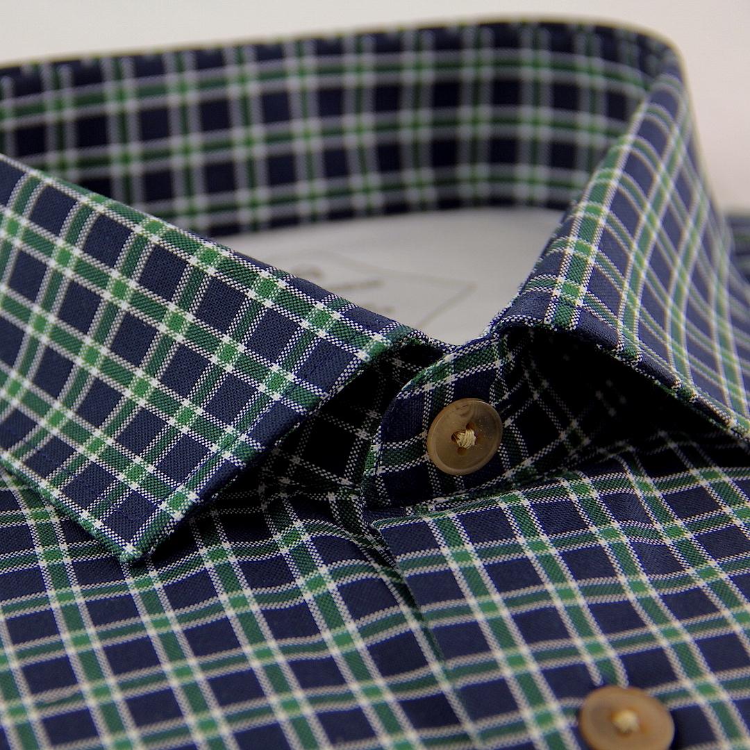 Camisa hombre verde Cg19 a cuadros I7yYbfv6g