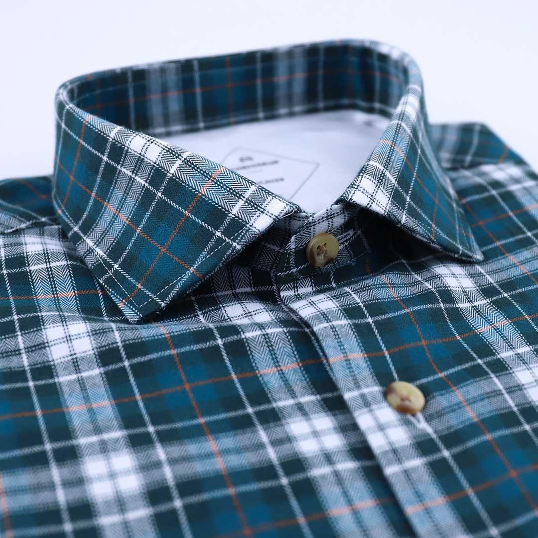 chemise homme flanelle carreaux