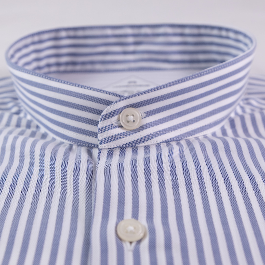 Chemise Homme Gris Oxford Bleu Rayures Rb80 rdeQWCxoEB