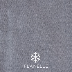 Chemise homme flanelle grise UY52