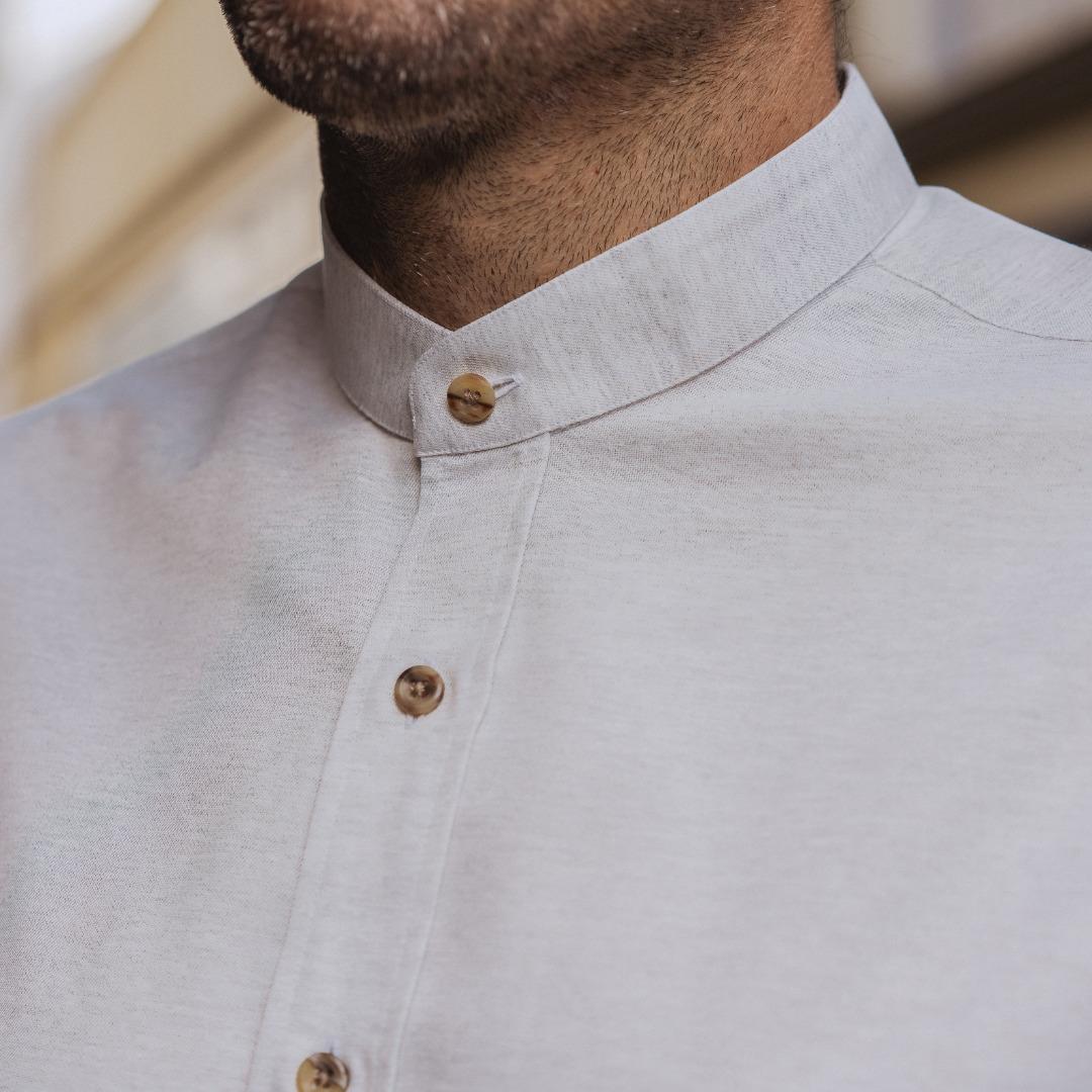 chemise homme coton recyclé