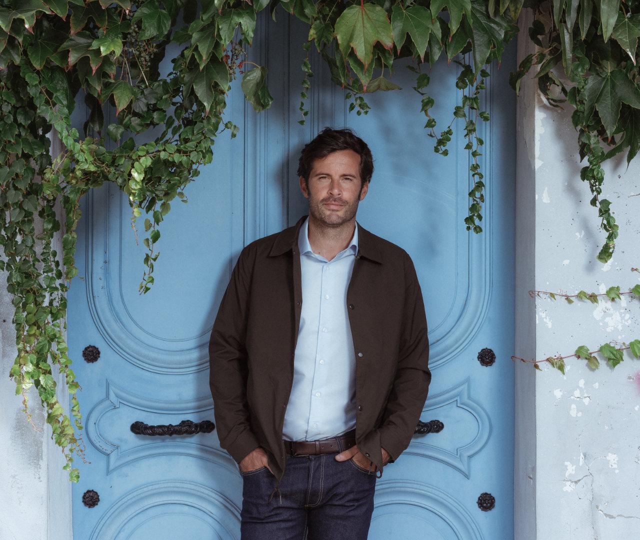 chemise homme sur mesure wendler bleu